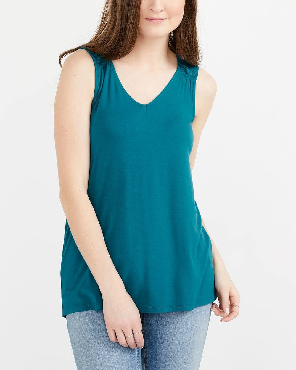 Tank Top with Ruching