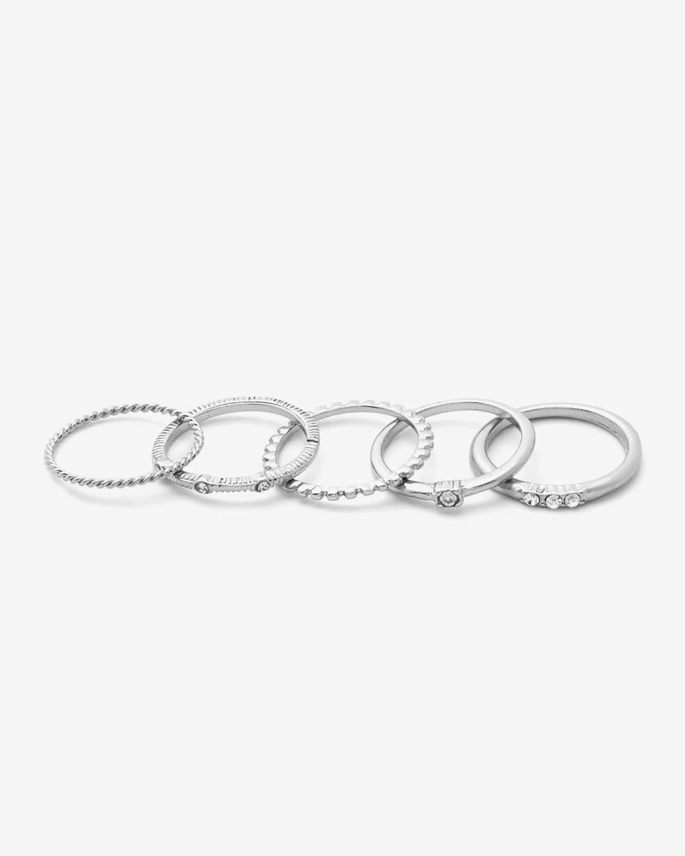 5-Piece Set of Rings