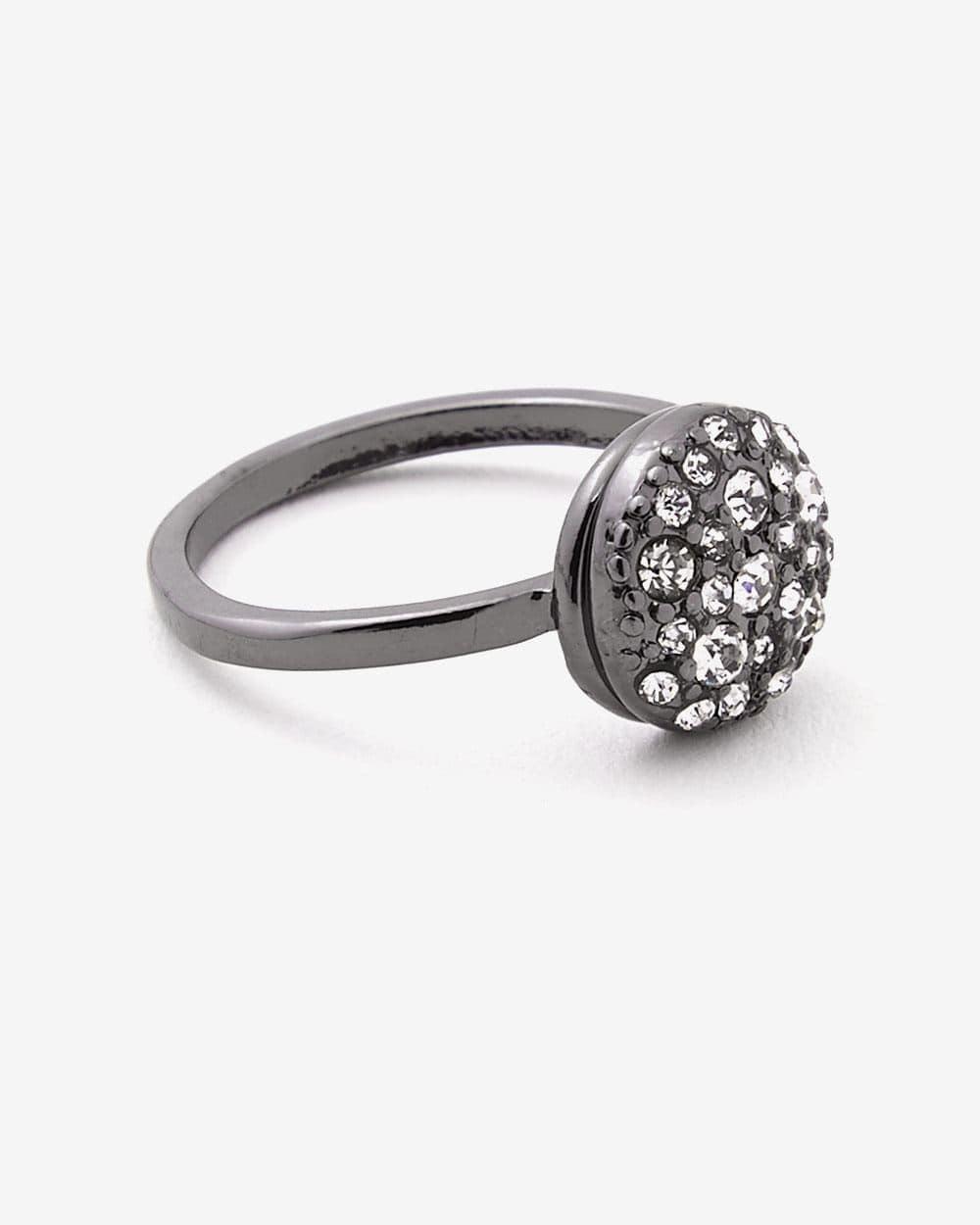 Stone Black Ring
