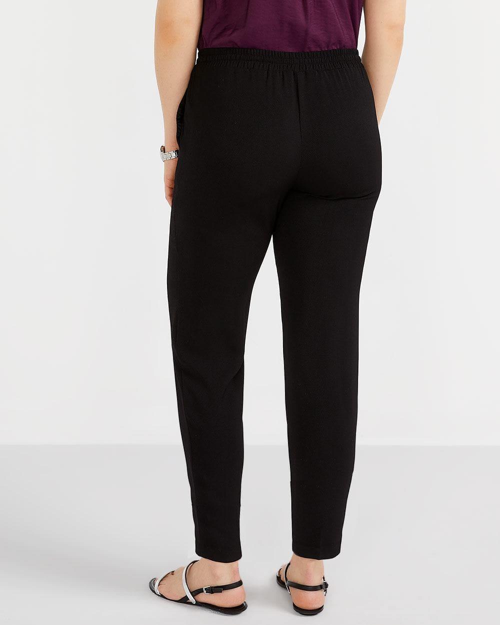 Petite Elastic Waist Pull-On Pant
