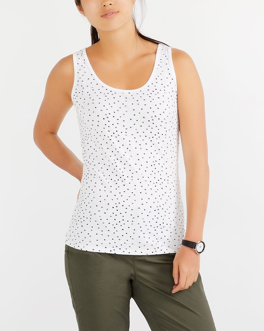 R Essentials Printed Must-Have Tank