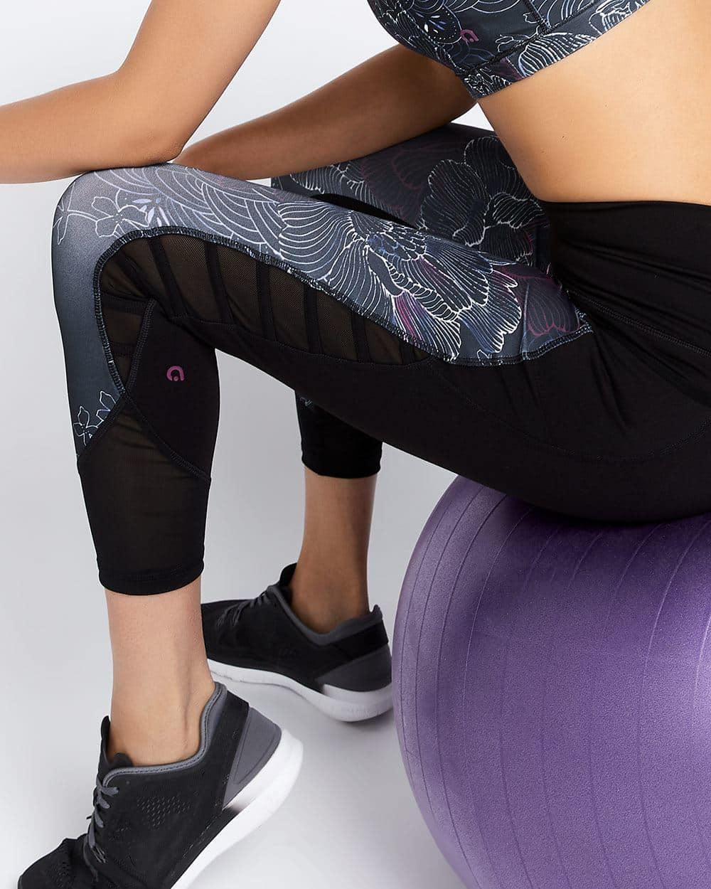 Hyba Lattice Cropped Legging