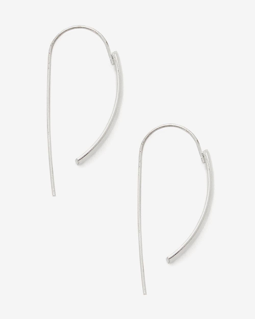 Boucles d'oreilles avant-arrière