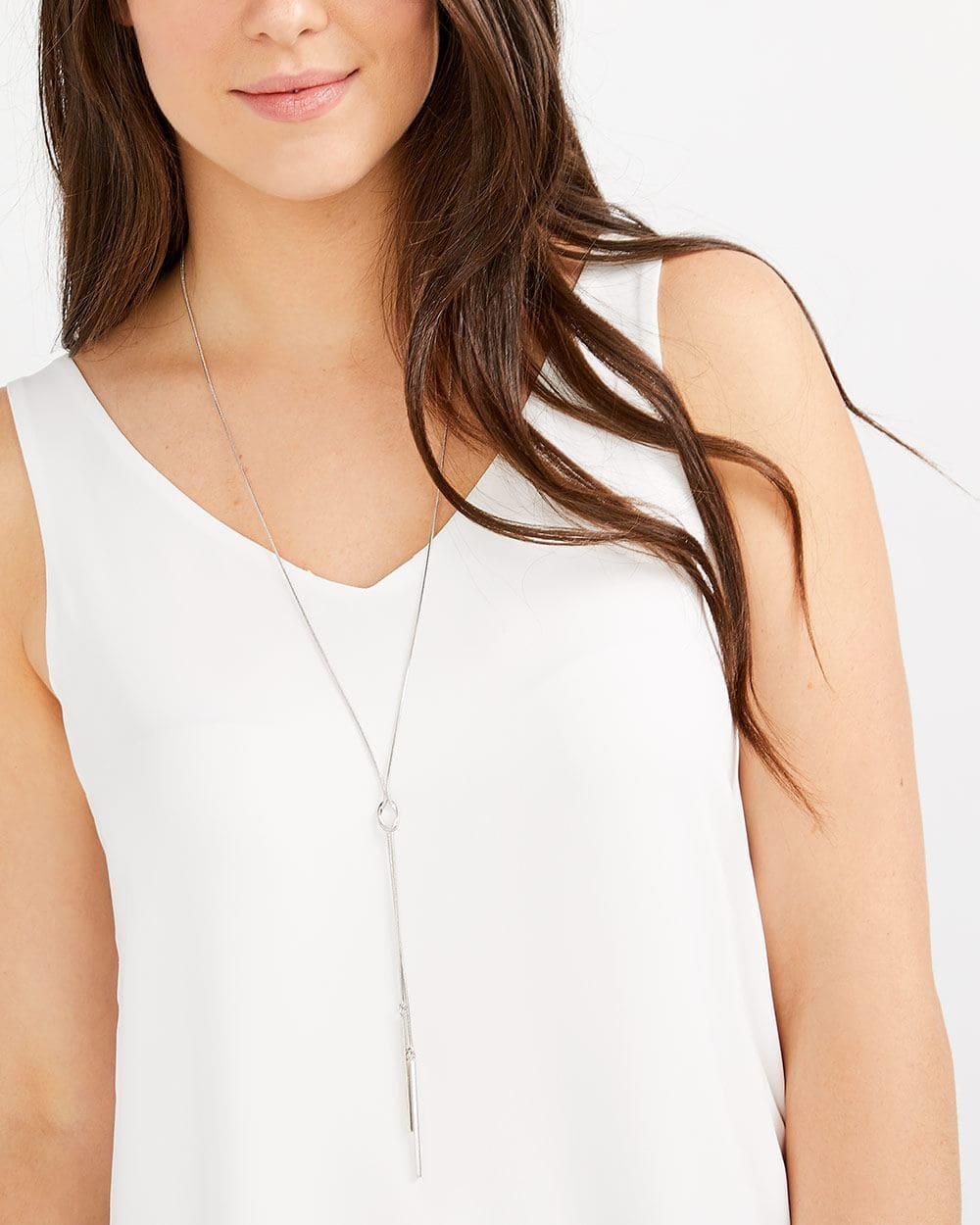 Stick Pendant Necklace
