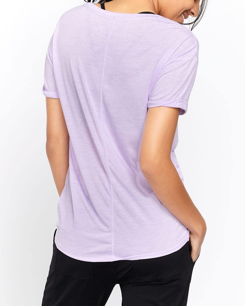 T-shirt graphique avec noeud Hyba