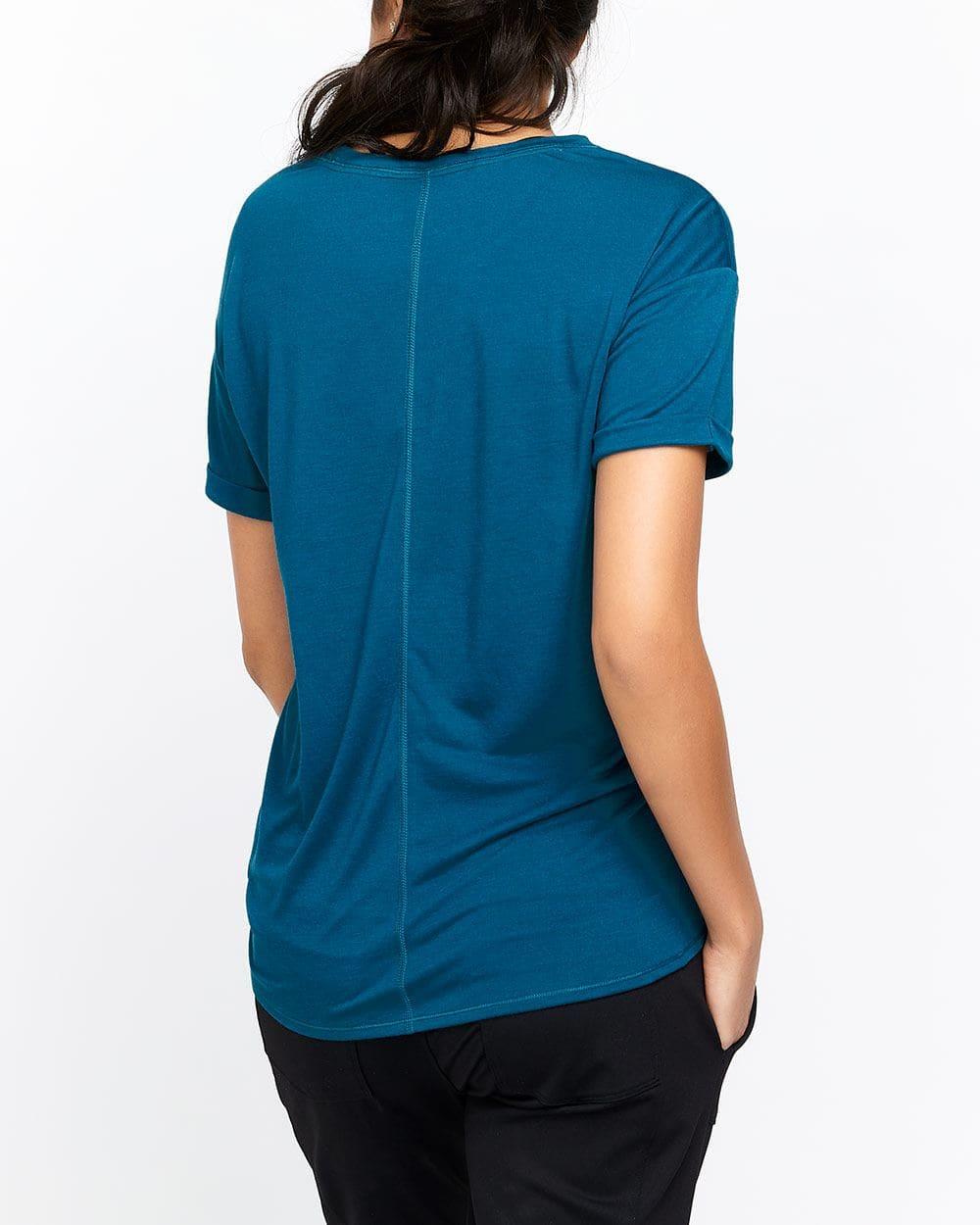 Hyba Side Tie T-Shirt