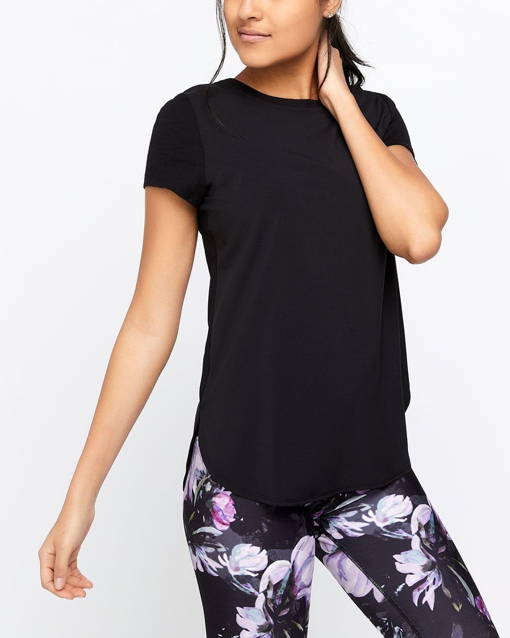 T-shirt bimatière Hyba