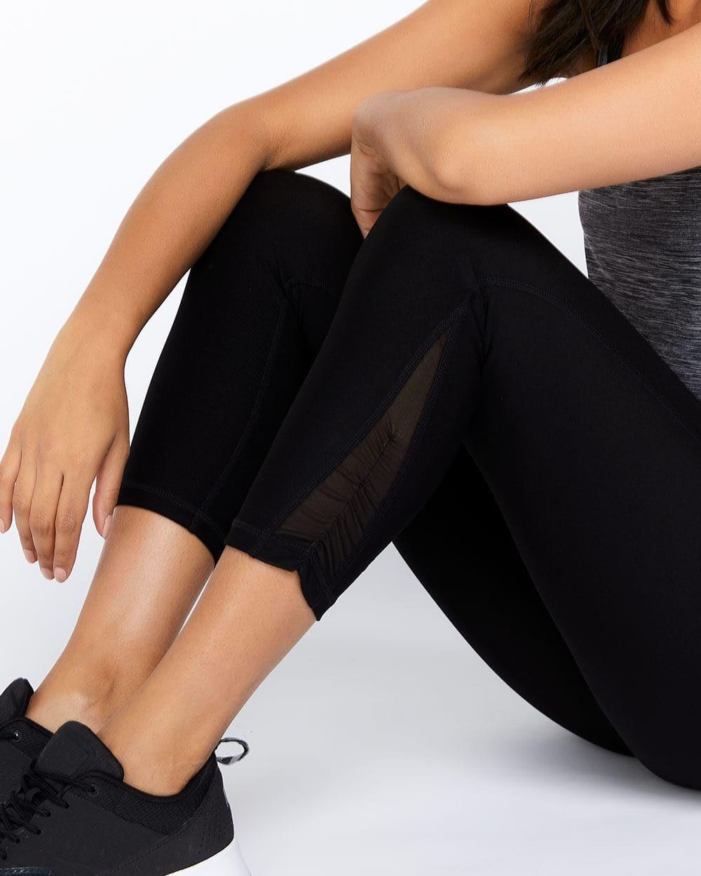 Hyba Shirred Cropped Legging