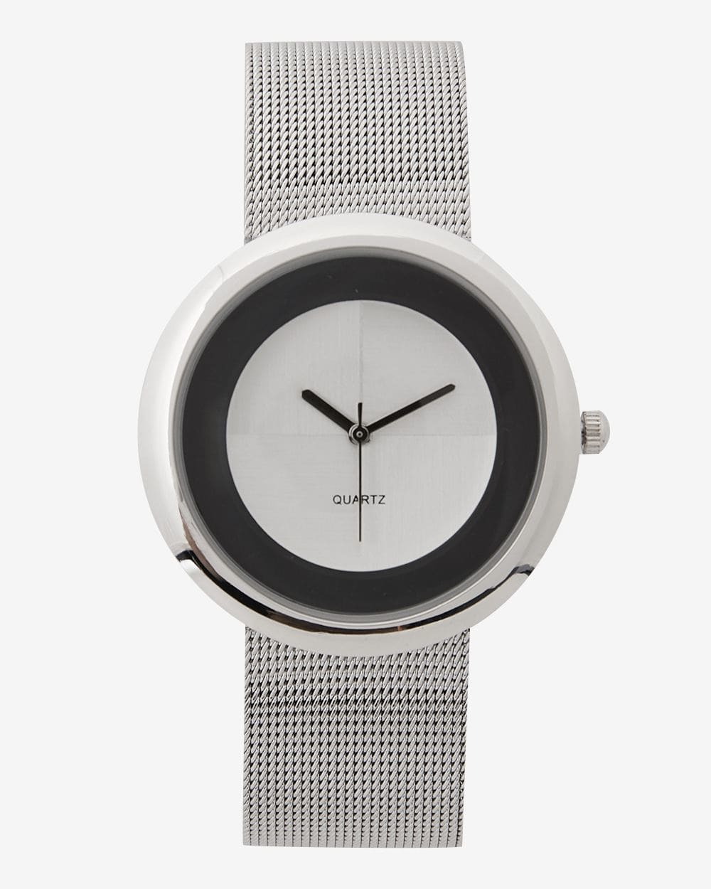 Mesh Band Wristwatch