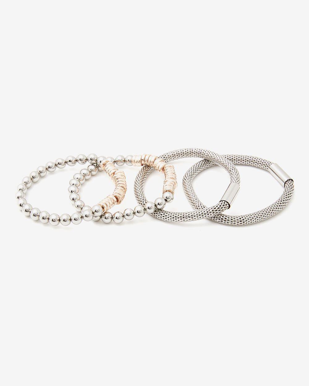 Set of 4 Elastic Bracelets