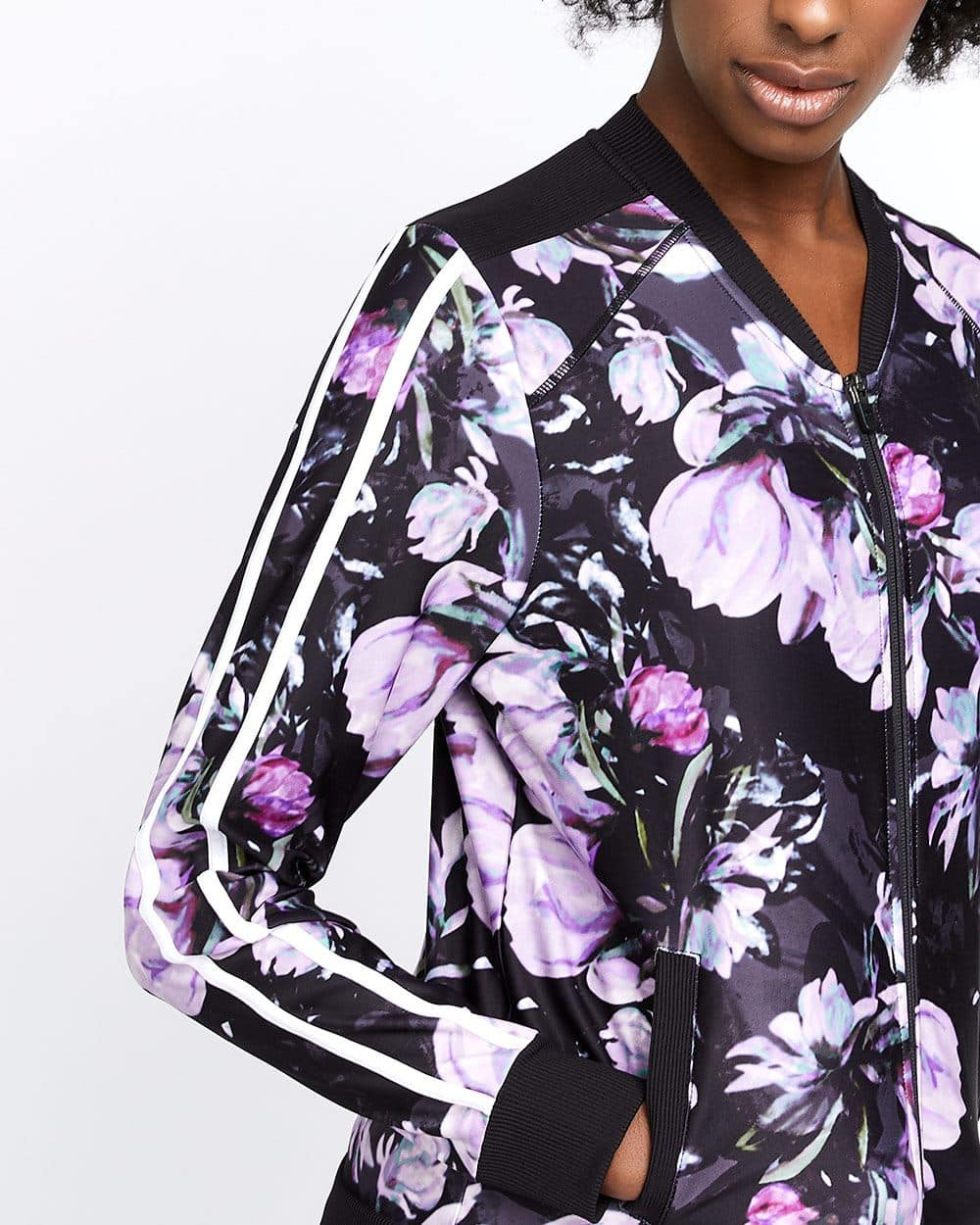 Hyba Printed Bomber Jacket
