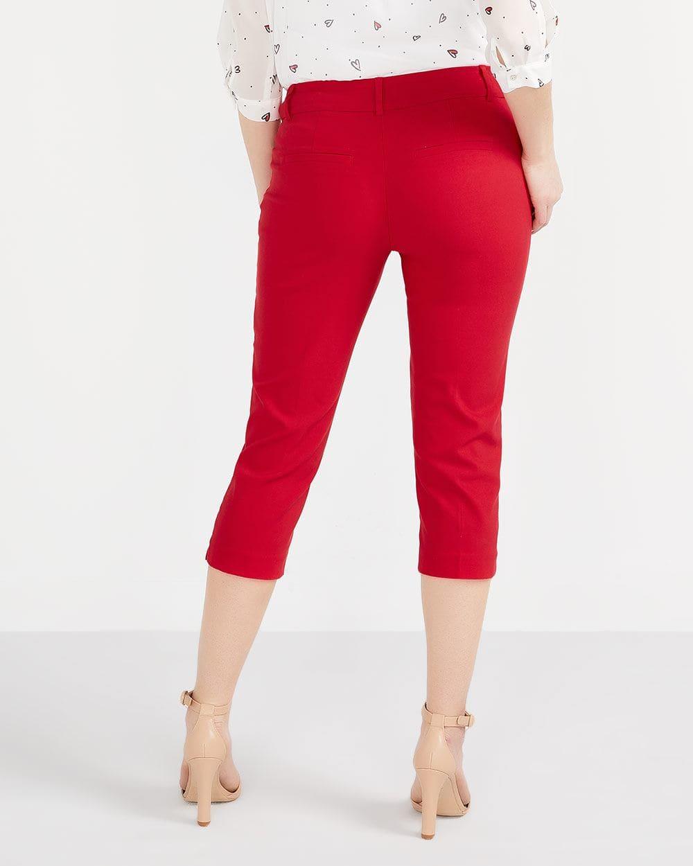 The Solid Iconic Capri Pants