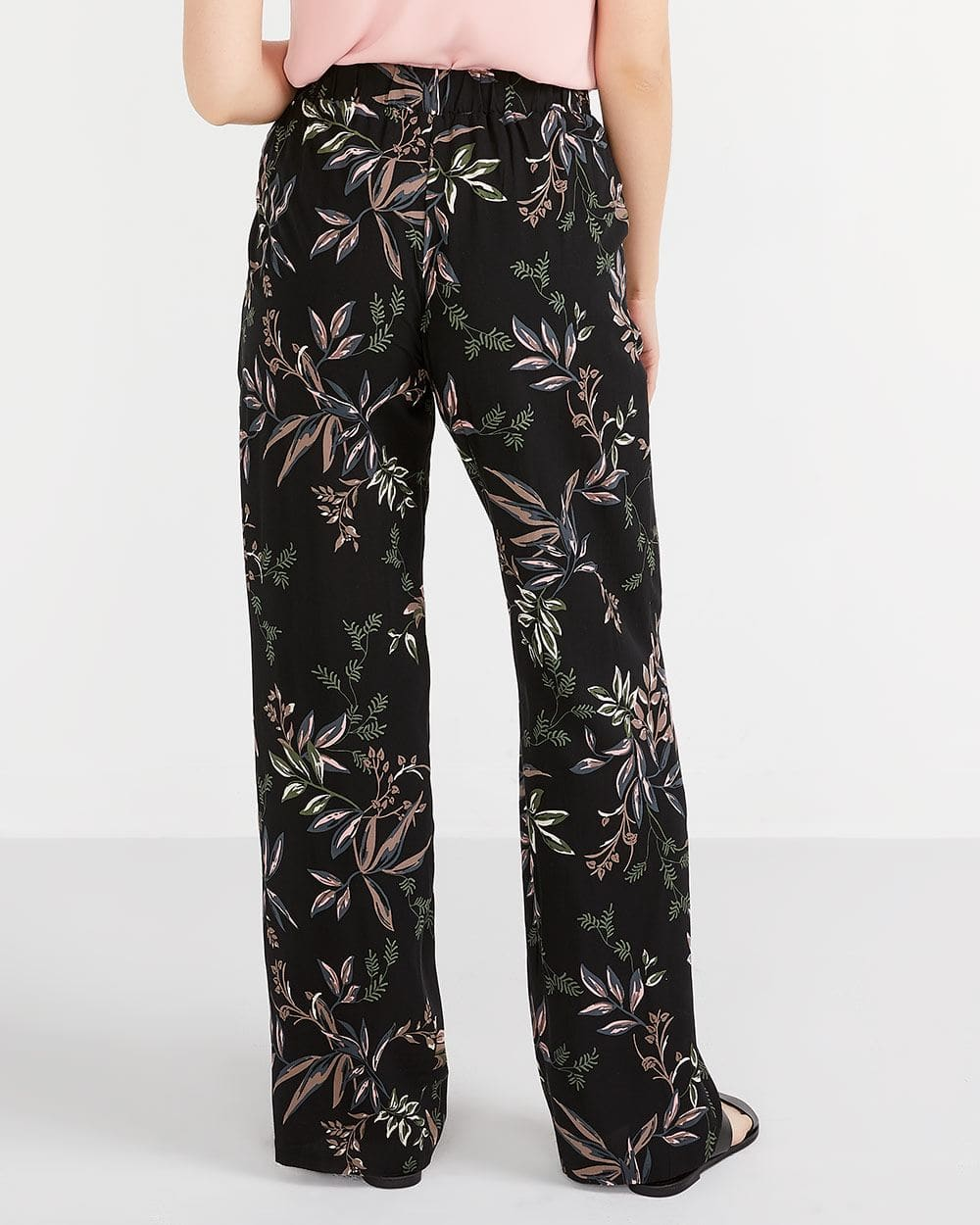 Pantalon imprimé, ample et Long