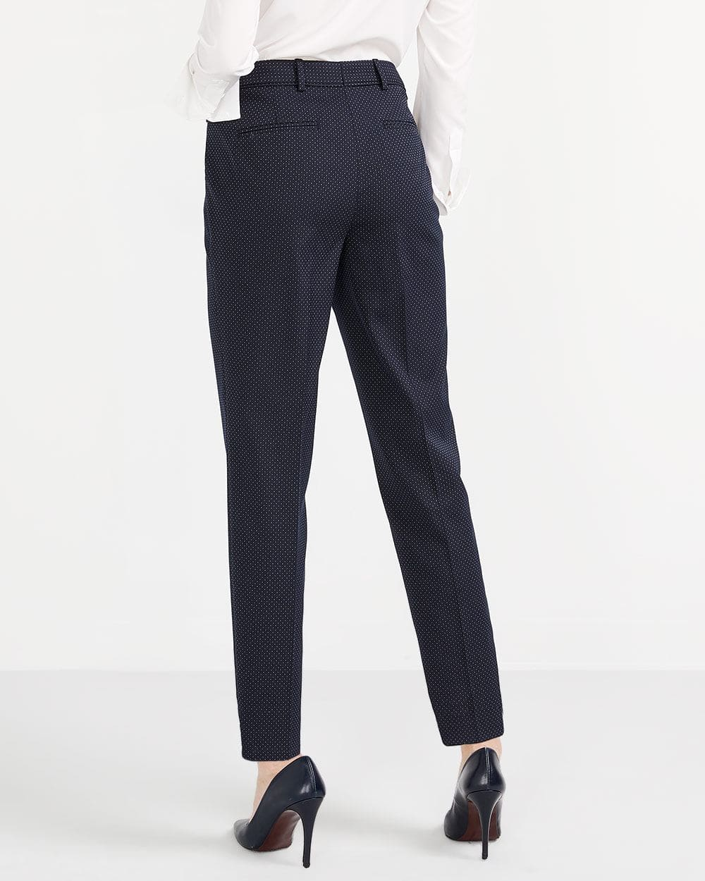 Pantalon de tailleur à pois Willow & Thread