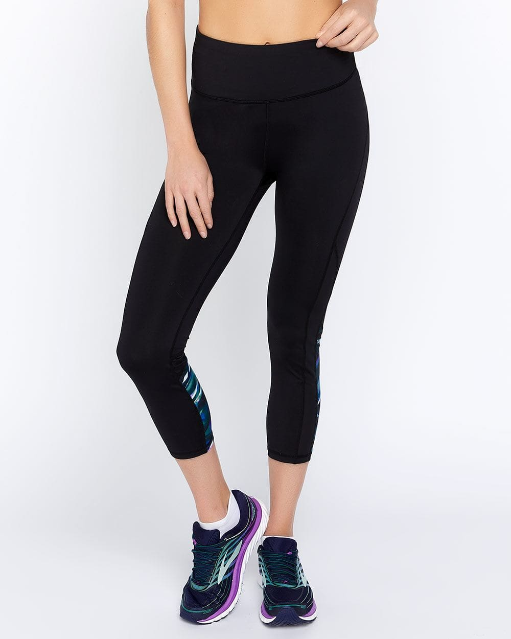 Hyba Running Legging with Mesh