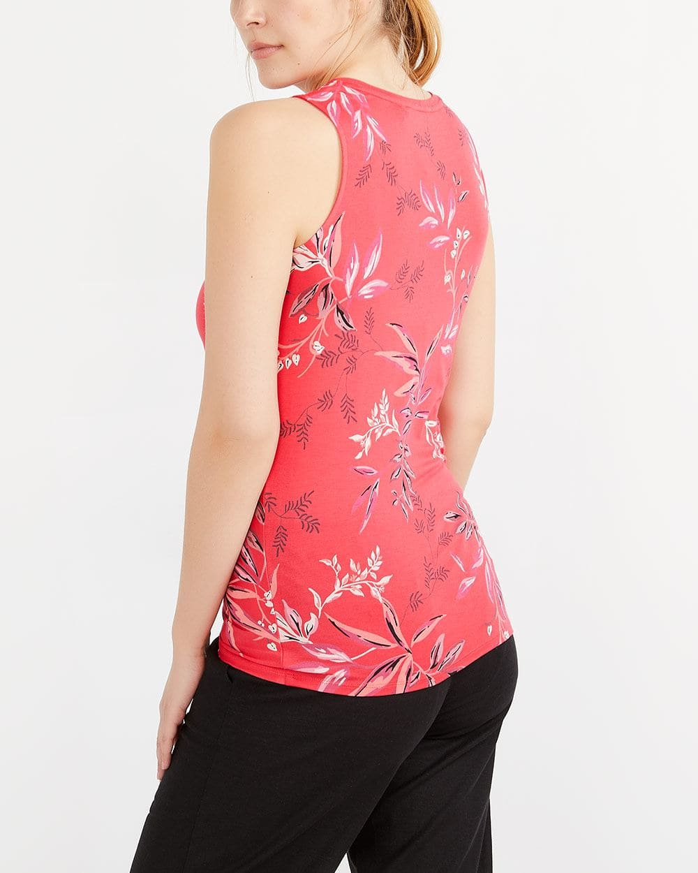 Printed Knotted Cami