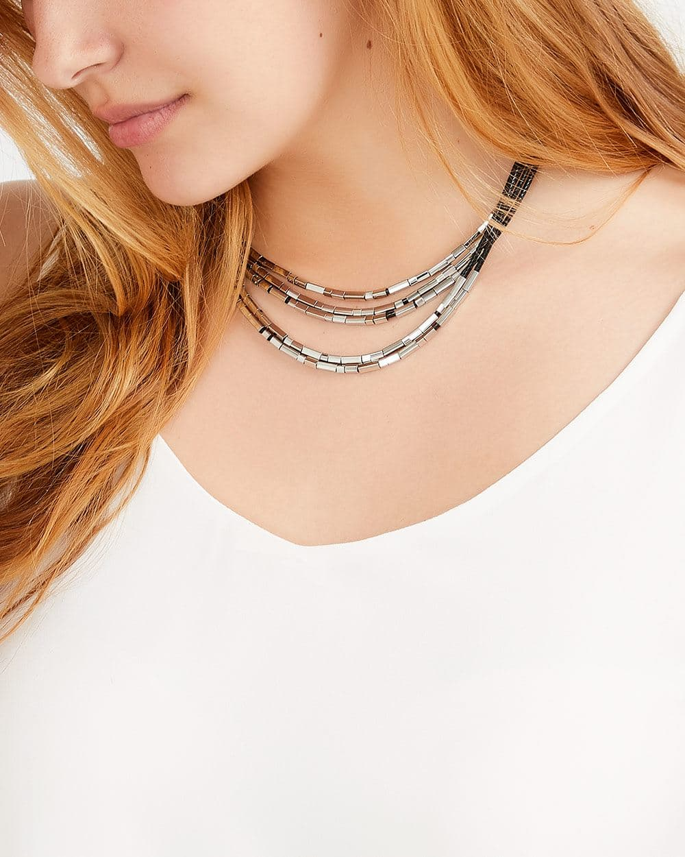 Multi-Layer Short Necklace
