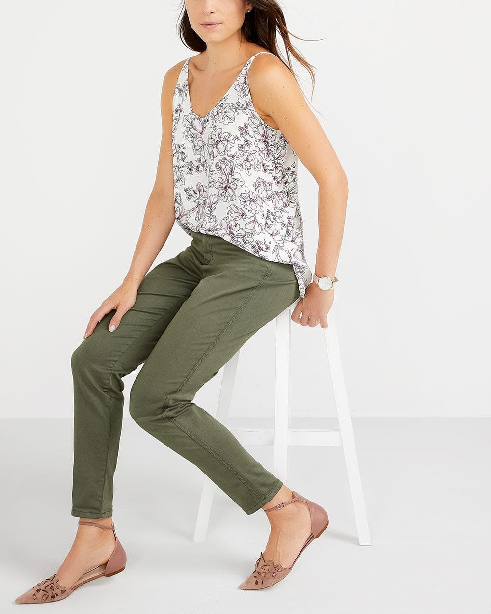 R Essentials Printed Urban Cami