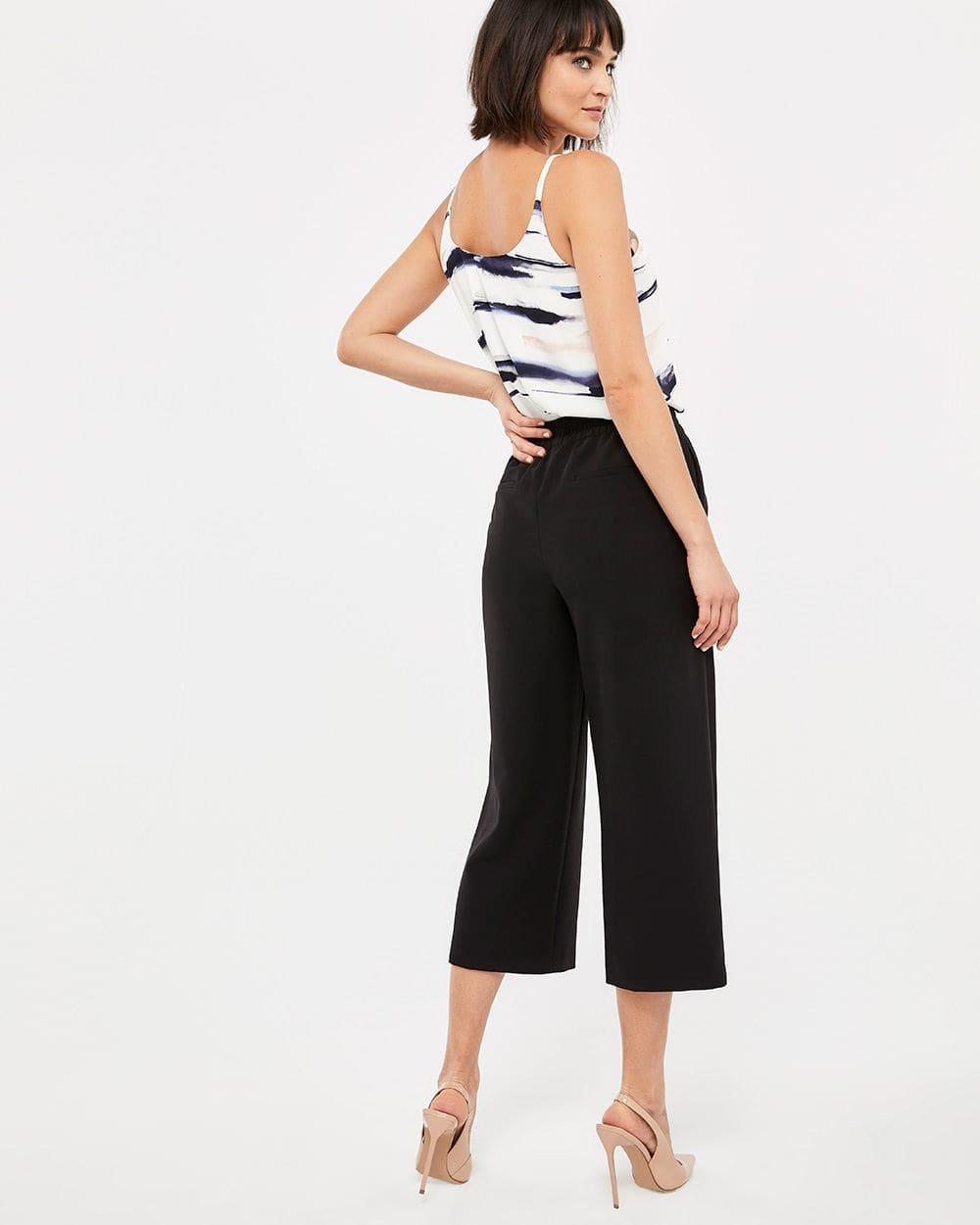 Pantalon Gaucho à taille élastique Willow & Thread
