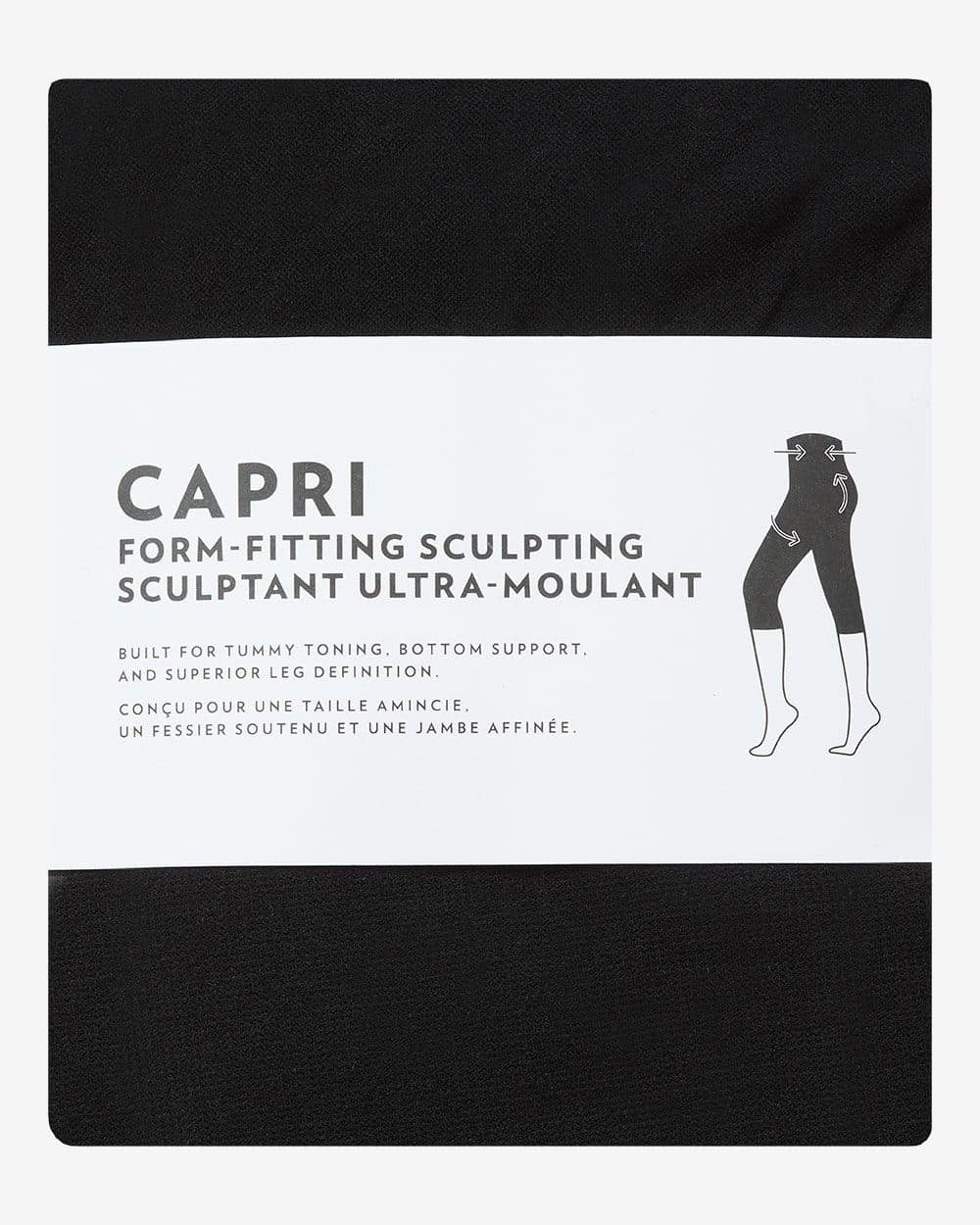 Legging capri sculptant