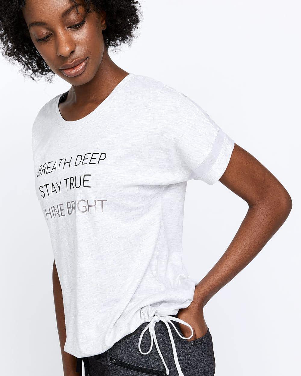 T-shirt à cordon Hyba
