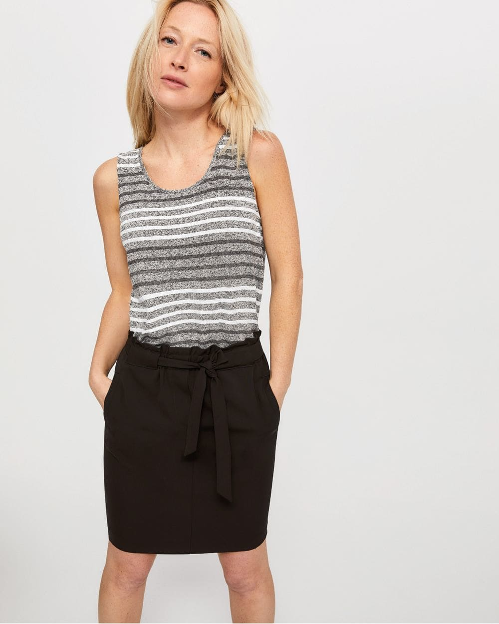 Reversible Striped Cami