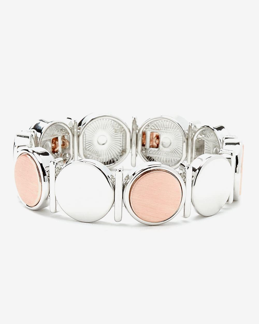 Elastic Two-Tone Bracelet