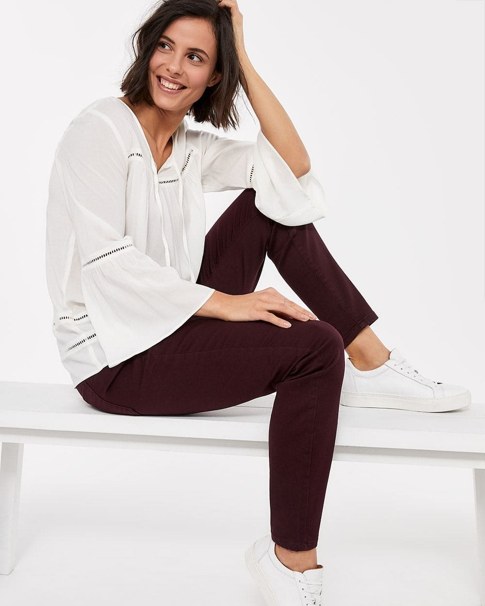 The Petite Skinny Coloured Sculpting Jeans