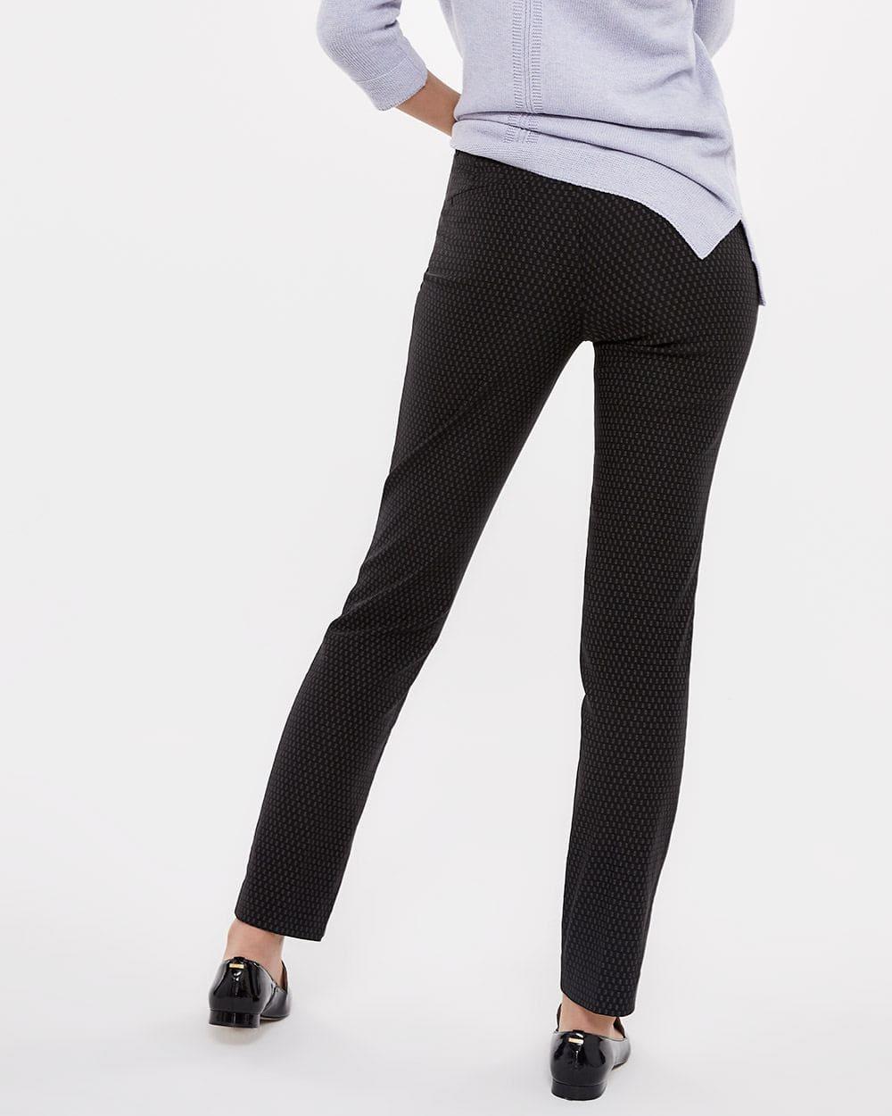 The Iconic Printed Straight Leg Pants