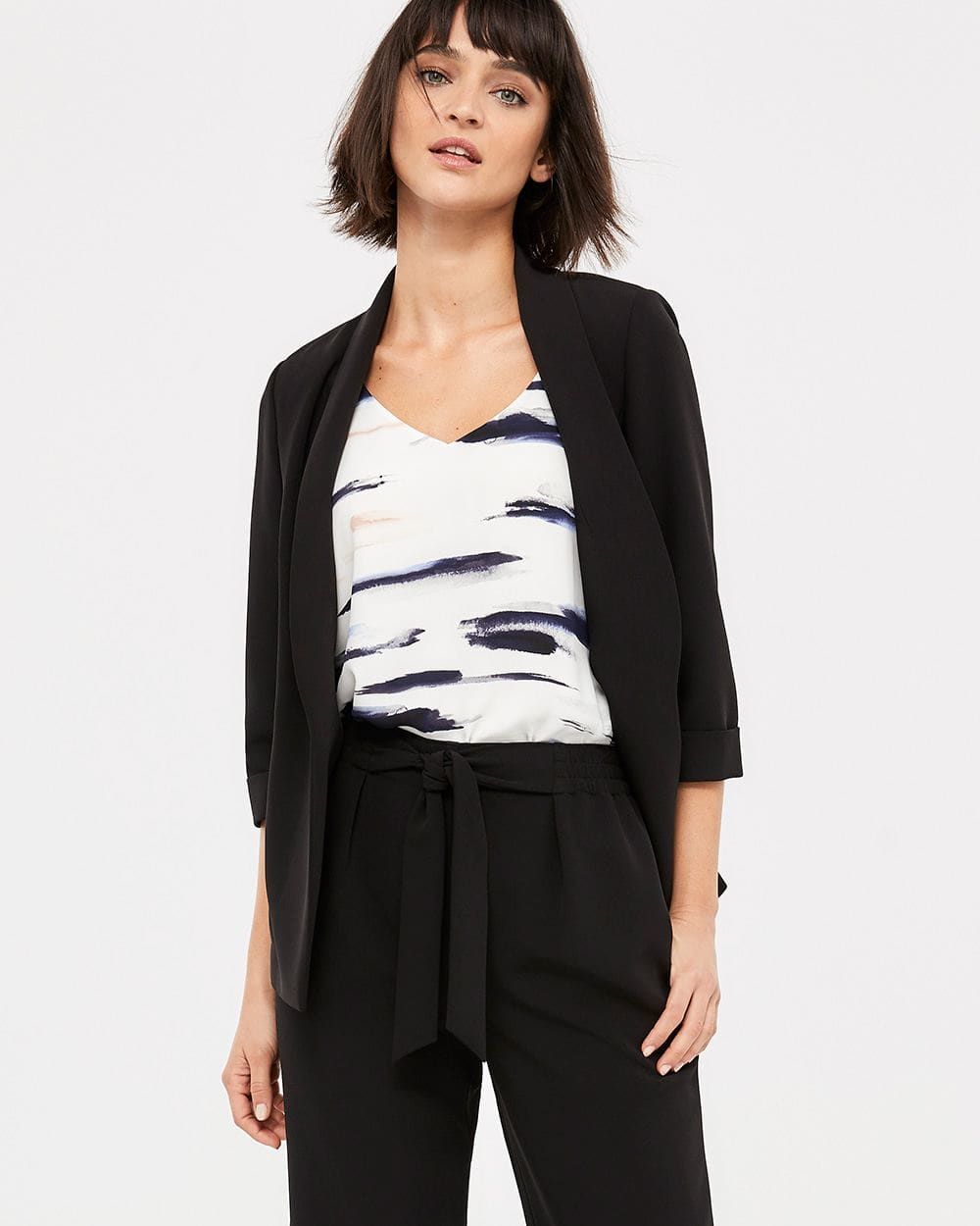 Willow & Thread Strappy Printed Top