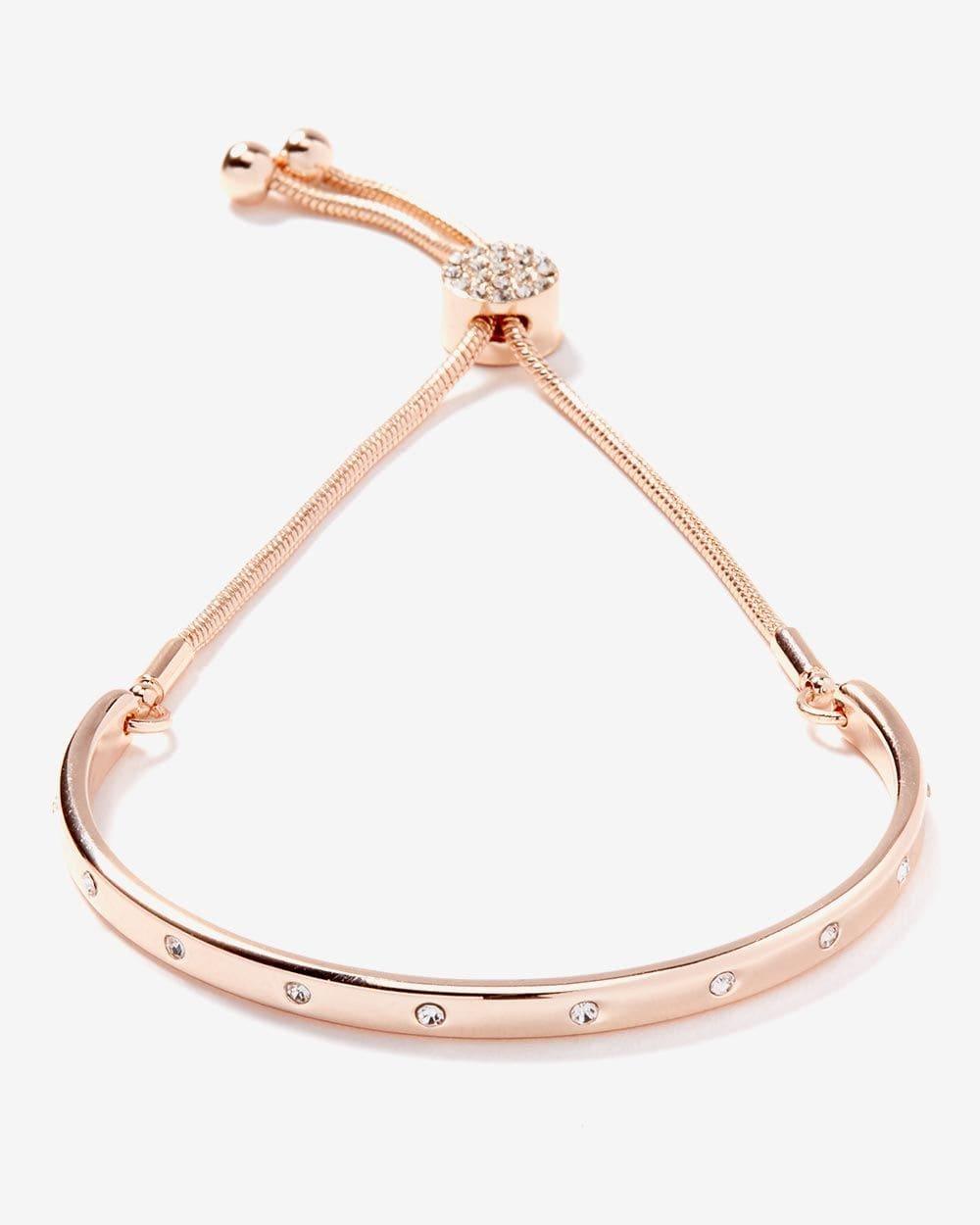 Adjustable Rhinestone Bracelet