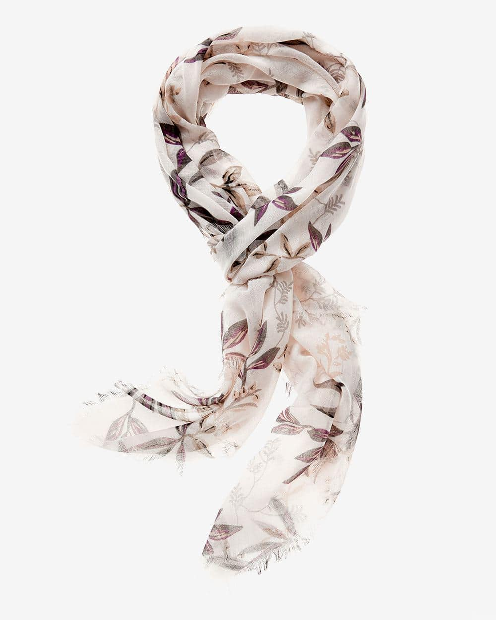 Floral Pattern Scarf