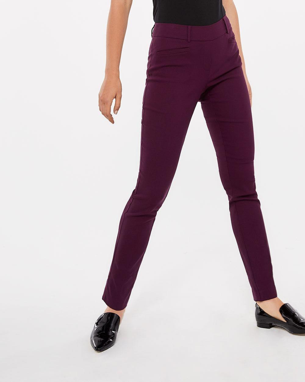 Pantalon coloré à jambe évasée L'Iconique Long