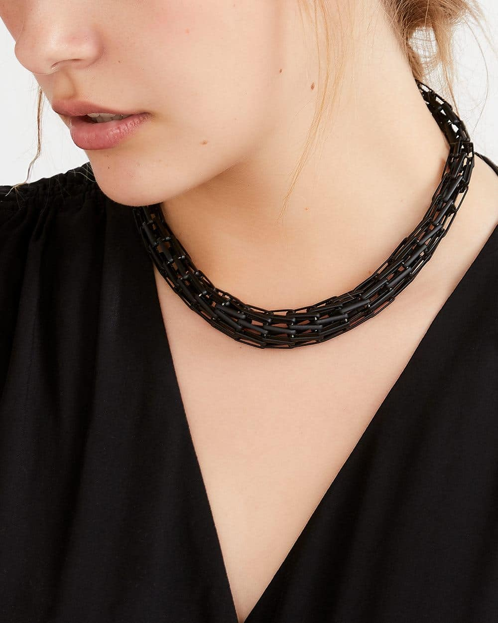 Silicone Structure Necklace