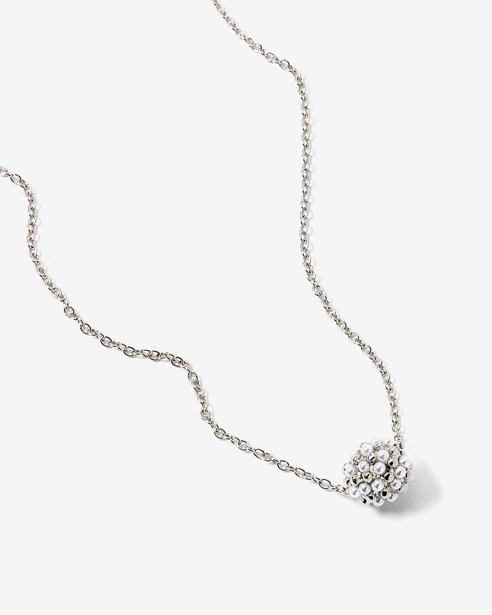 Pearl Mix Pendant Necklace