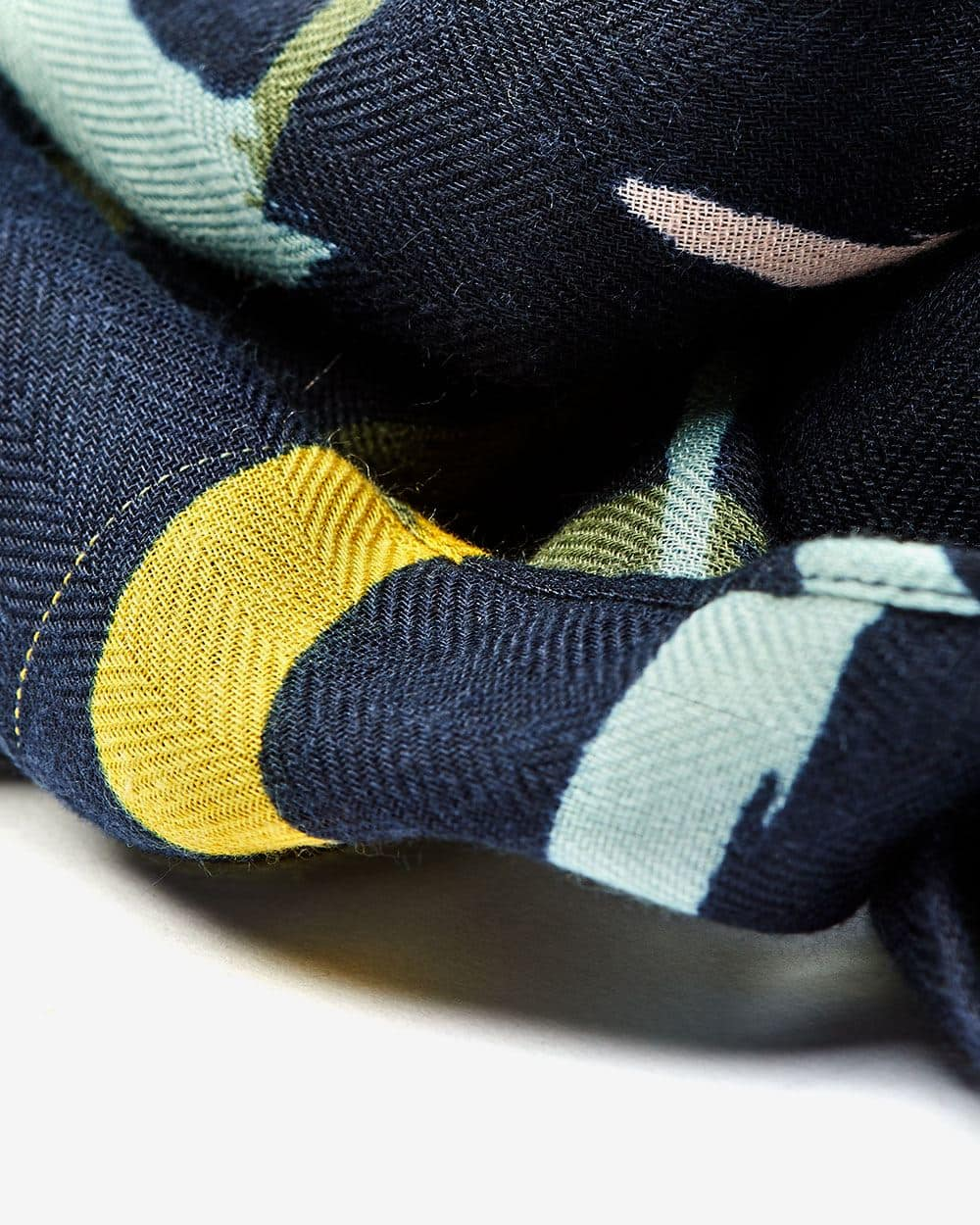Foulard multicolore oblong