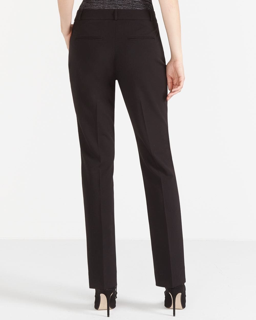 The Petite New Classic Straight Leg Pants