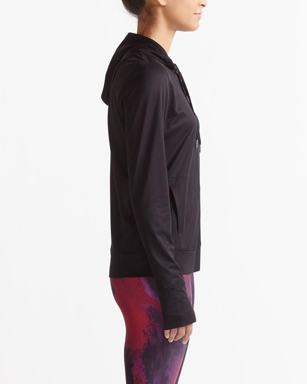 Veste à capuche en maille essentielle Hyba