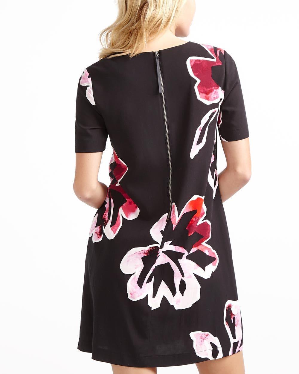 Printed Swing Dress