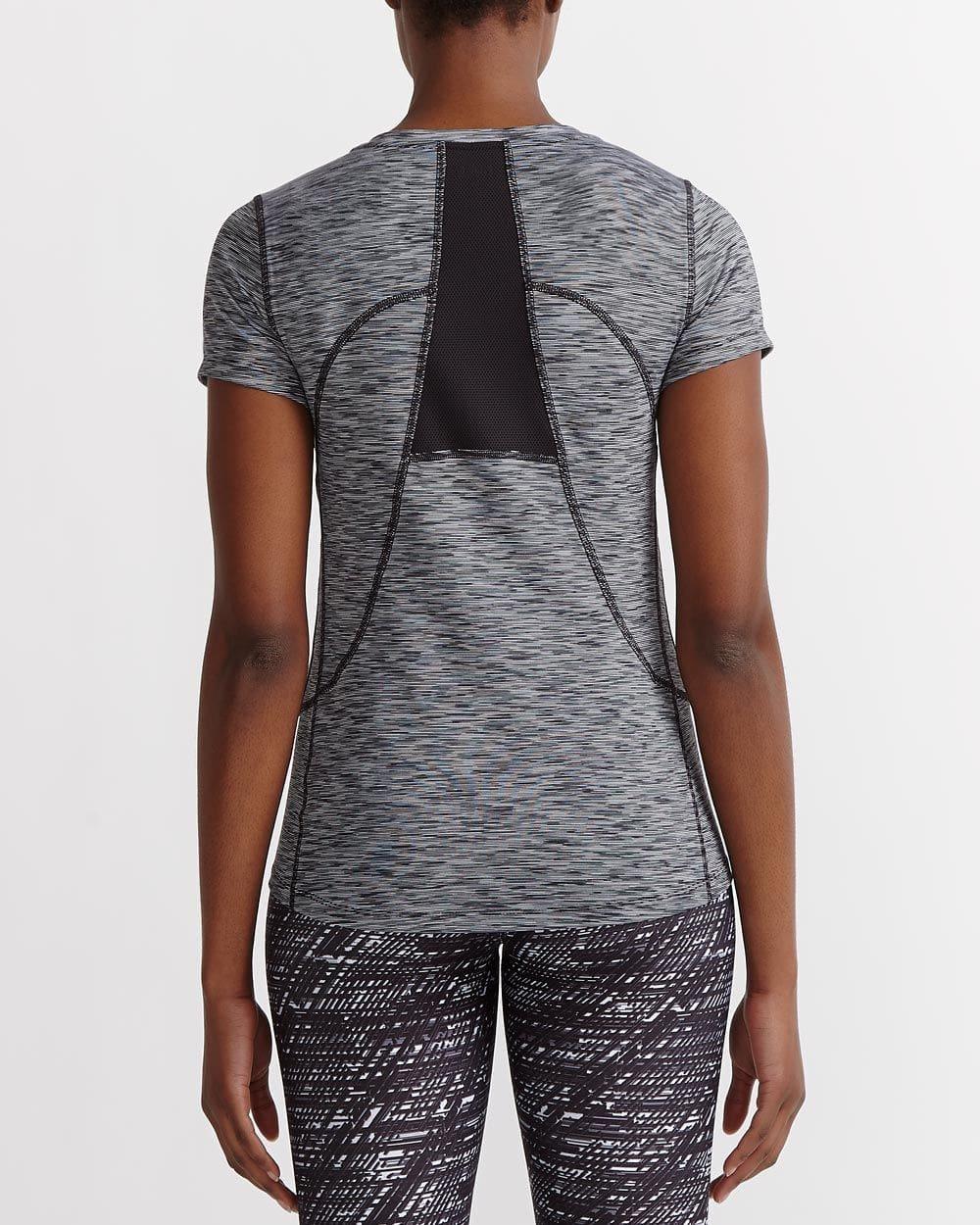 T-shirt à séchage rapide chiné Hyba