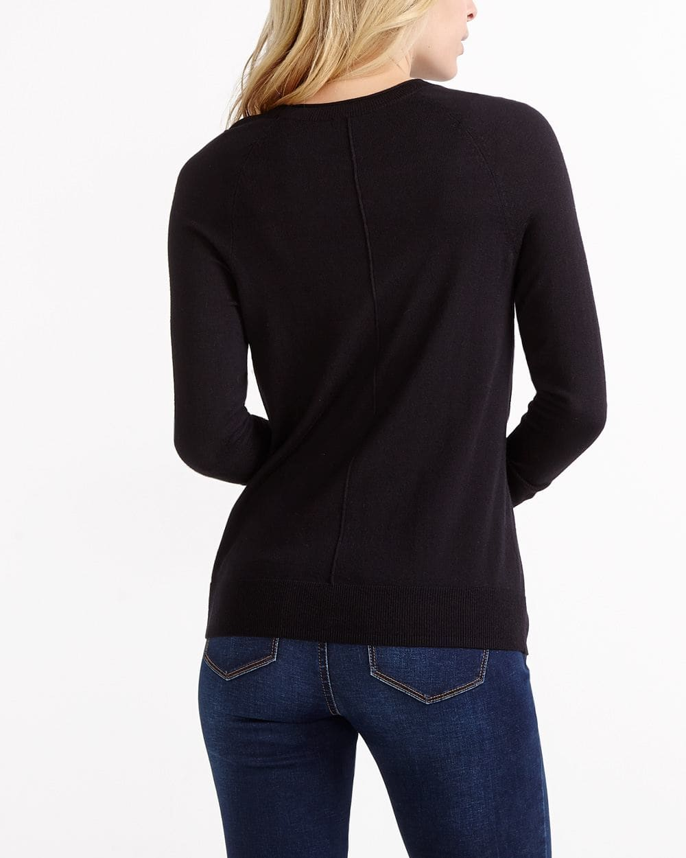 R Essentials ¾ Sleeve Sweater