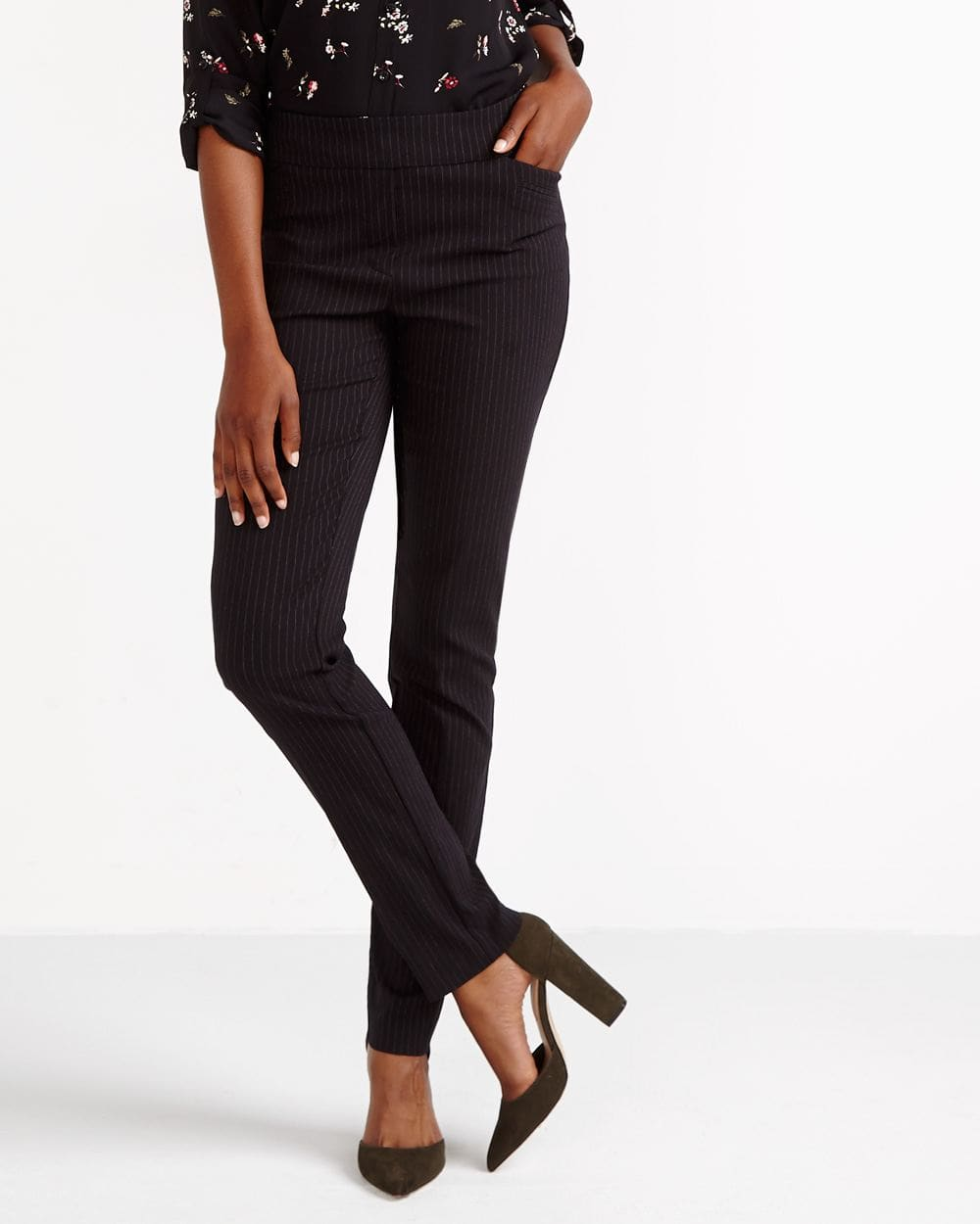 The Tall Iconic Straight Leg Striped Pants
