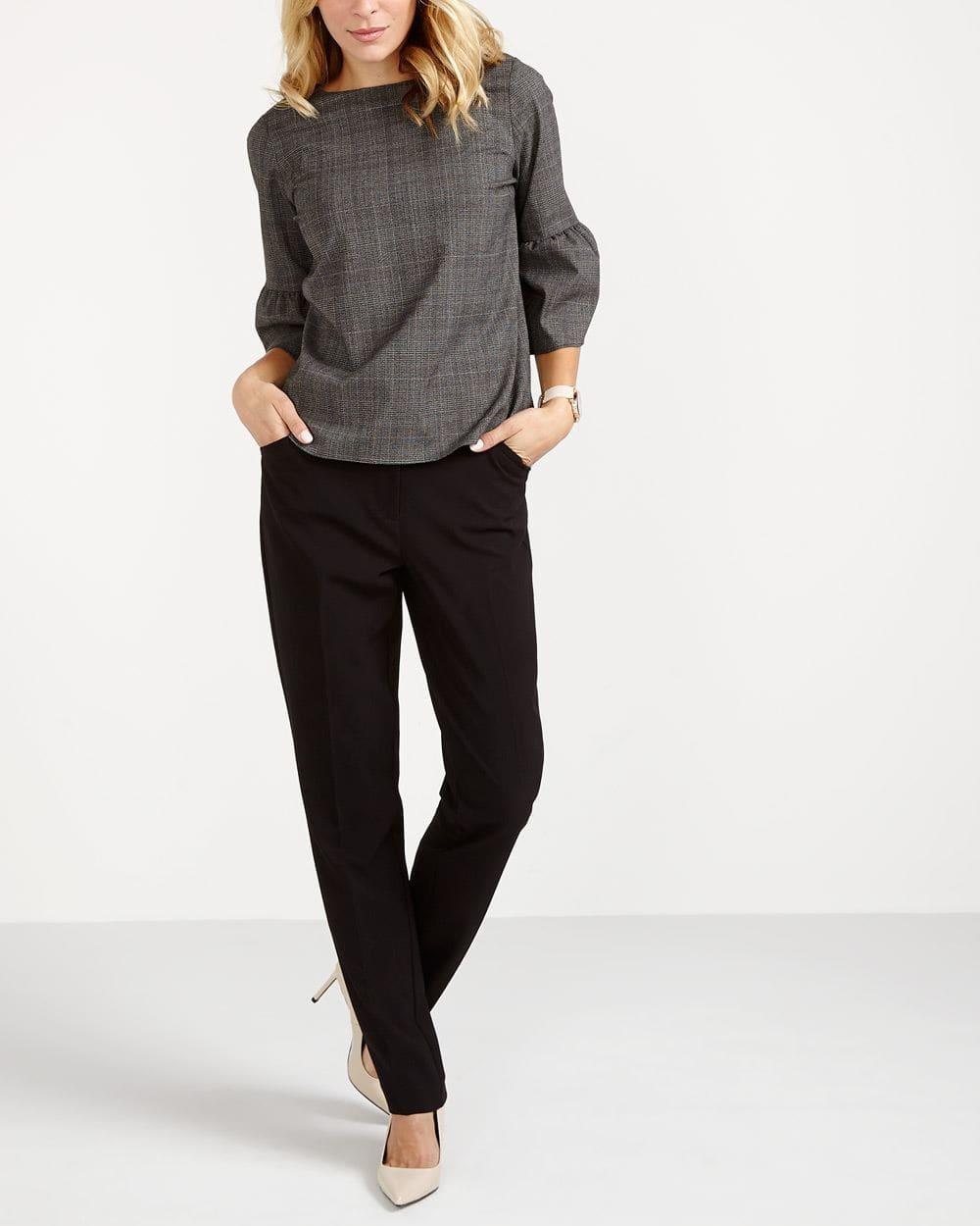 Pantalon à jambe droite Le Nouveau Classique Long