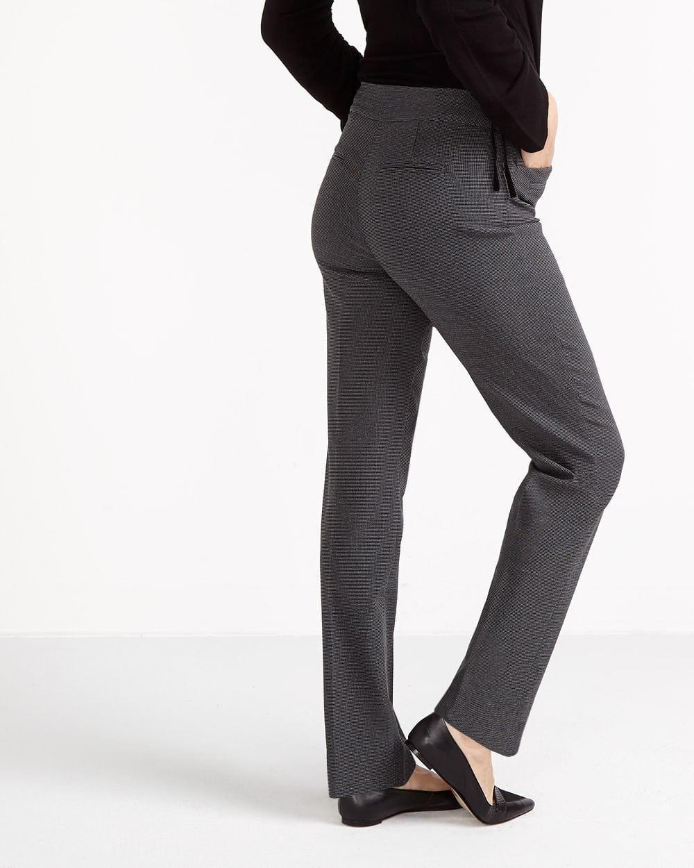 The Iconic Straight Leg Printed Pants