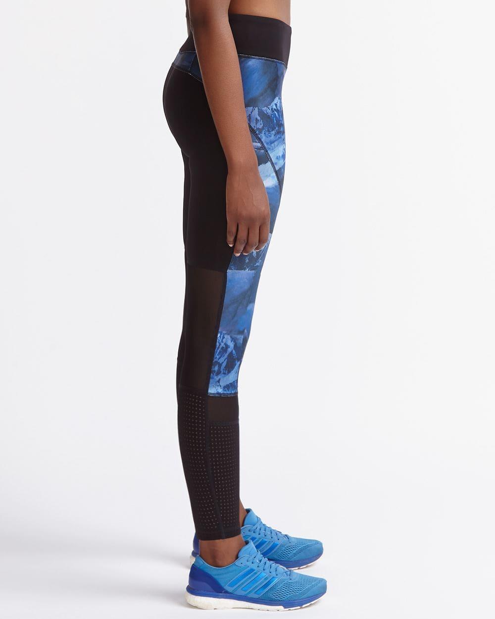 Legging imprimé avec mailles Hyba
