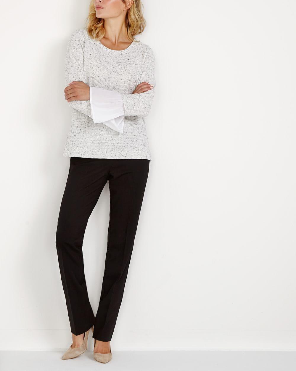 Pantalon à mini chevrons Le Nouveau Classique
