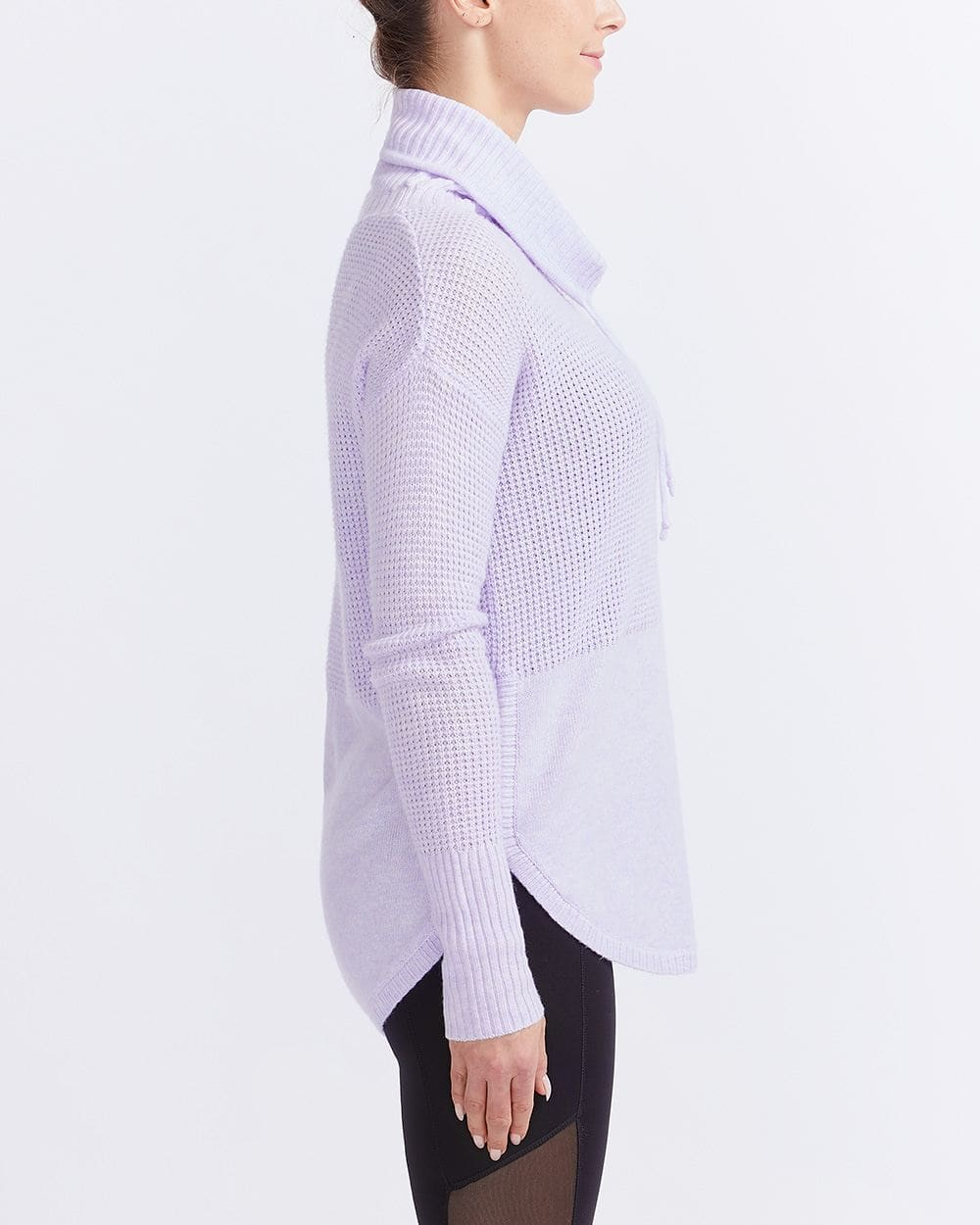 Hyba Cowl Neck Knit Sweater