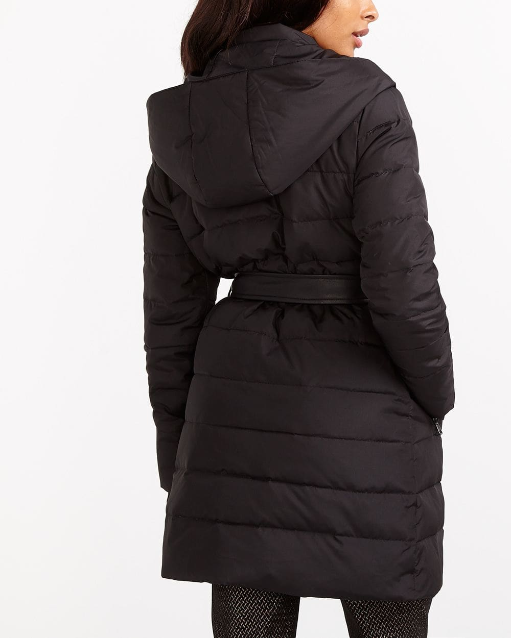 Belted Down Coat