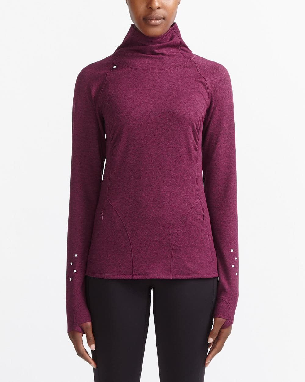 Hyba Thermal Mock Neck Top