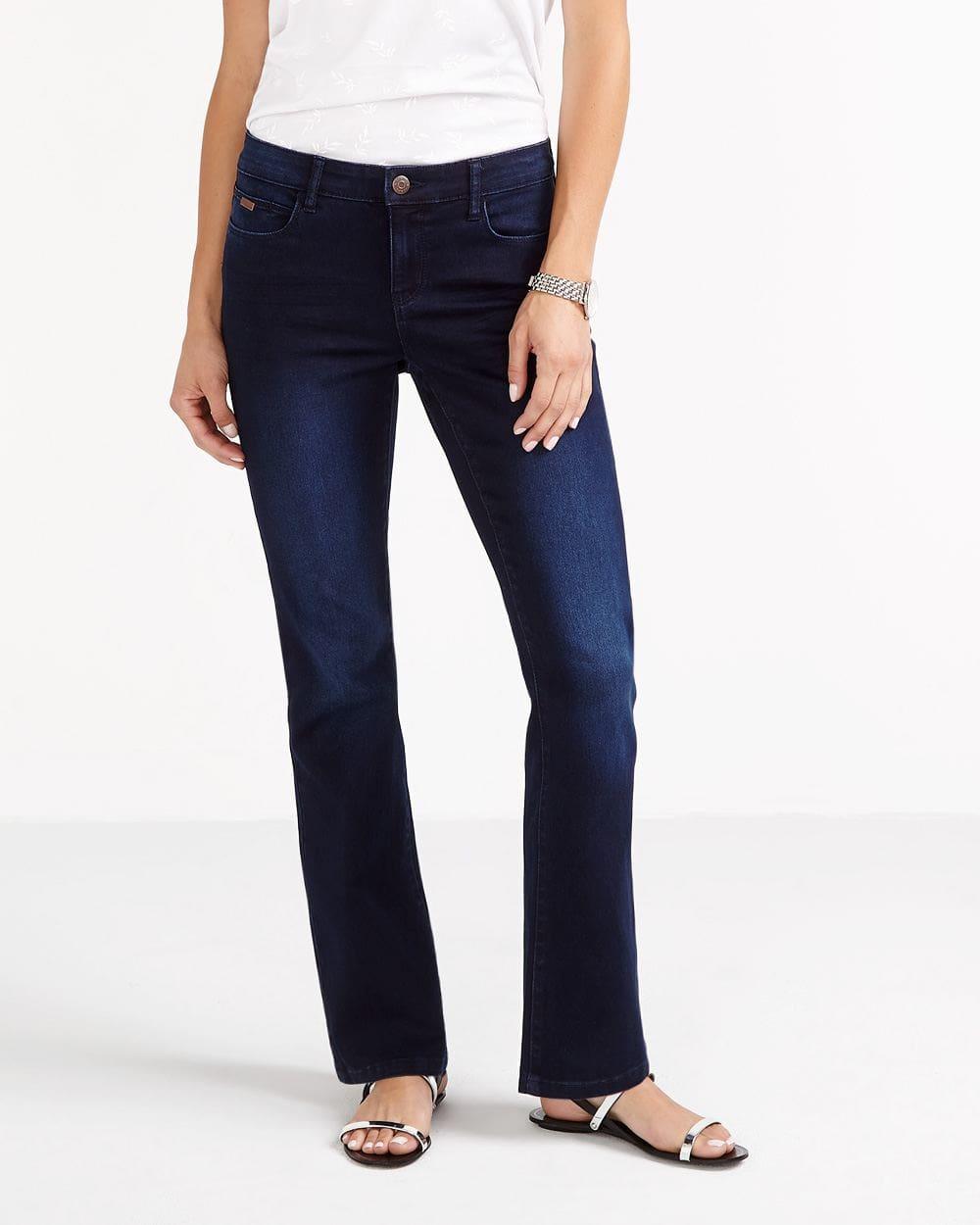 The Petite Signature Soft Boot Cut Jeans